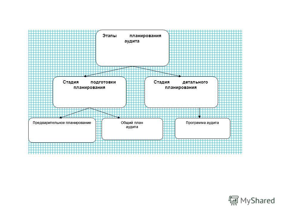 Этапы планирования аудита