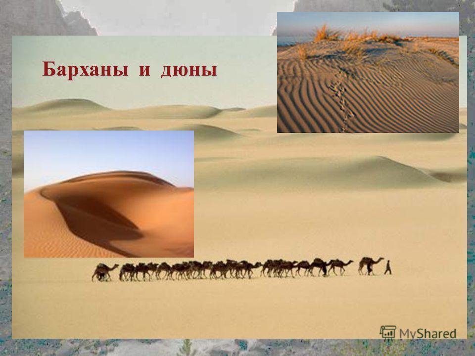 Барханы и дюны