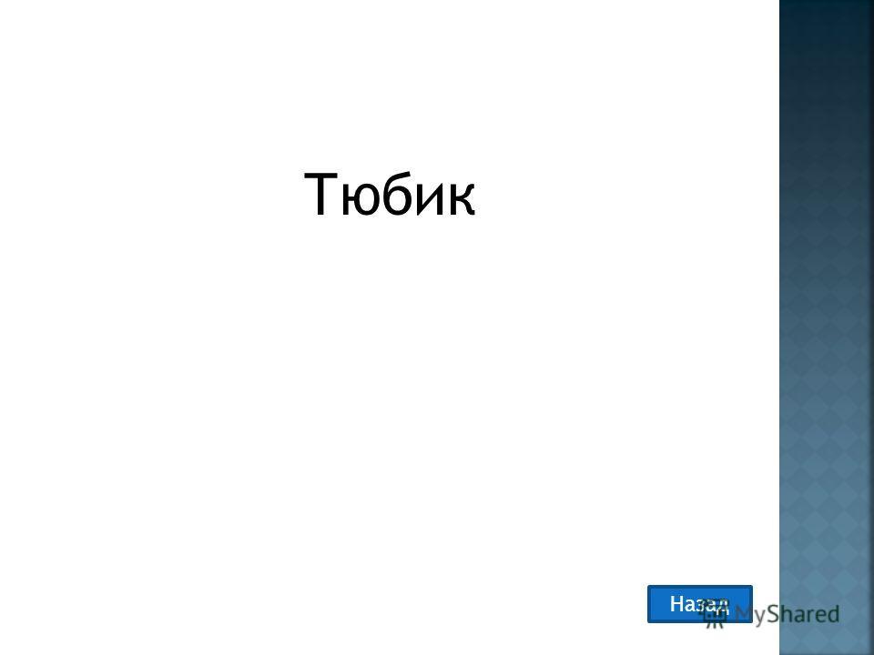Тюбик Назад