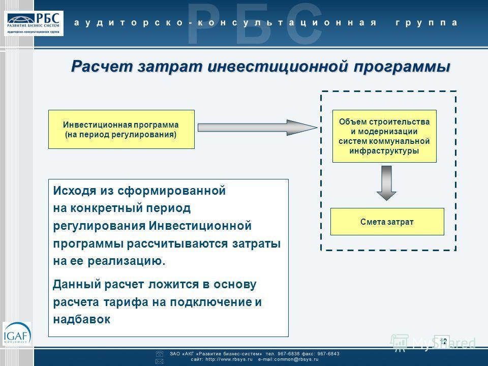 Методика разработки инвестиционной программы скачать бесплатно