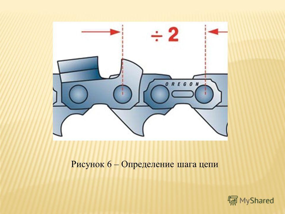 Рисунок 6 – Определение шага цепи