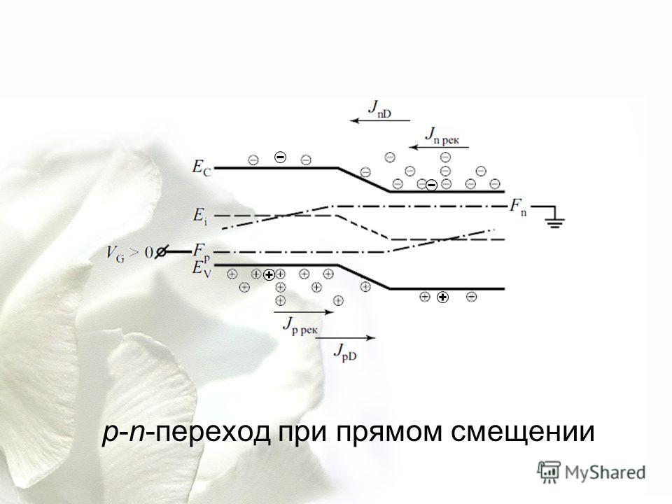 p-n-переход при прямом смещении