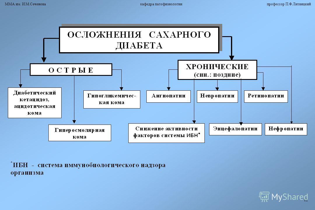 ММА им. И.М.Сеченова кафедра патофизиологии профессор П.Ф.Литвицкий 12