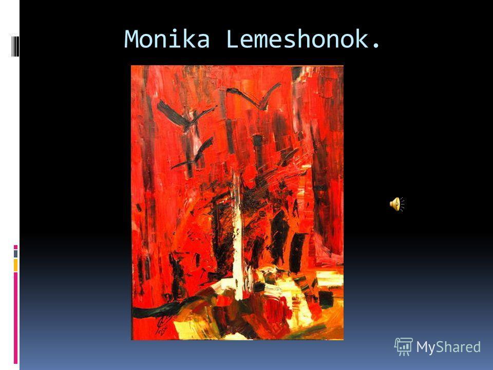 Monika Lemeshonok.