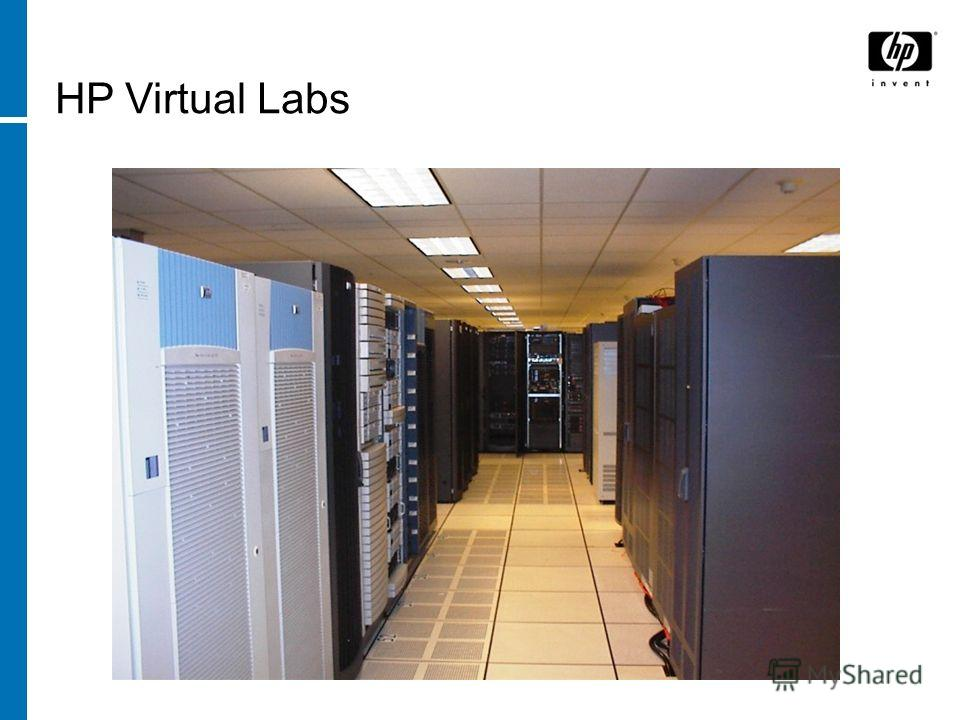 HP Virtual Labs