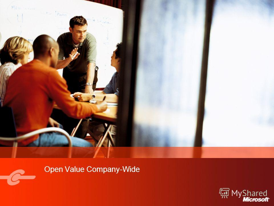 Open Value Company-Wide