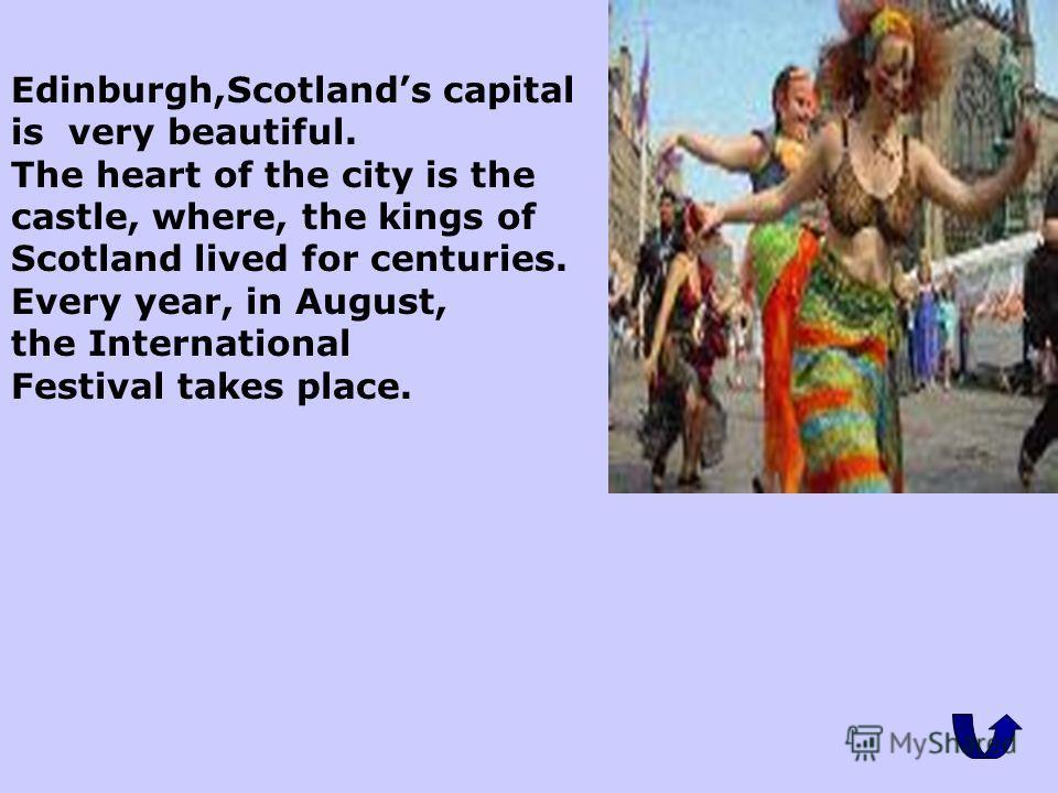 Scotland. Шотландию (население - 5,1 млн. человек) можно разделить на три основные части. Первая часть - северо-западные и центральные горы вместе с большим количеством островов на западном и северном побережьях. Эти земли слабо заселены, на составля