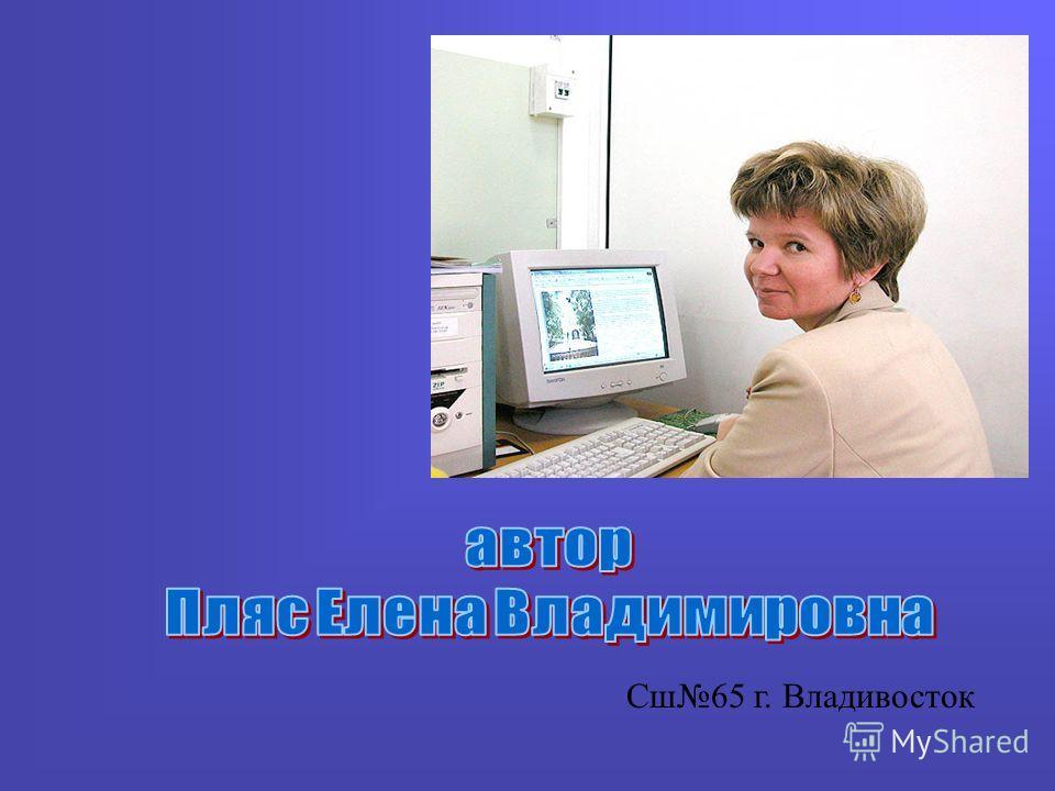 Сш65 г. Владивосток