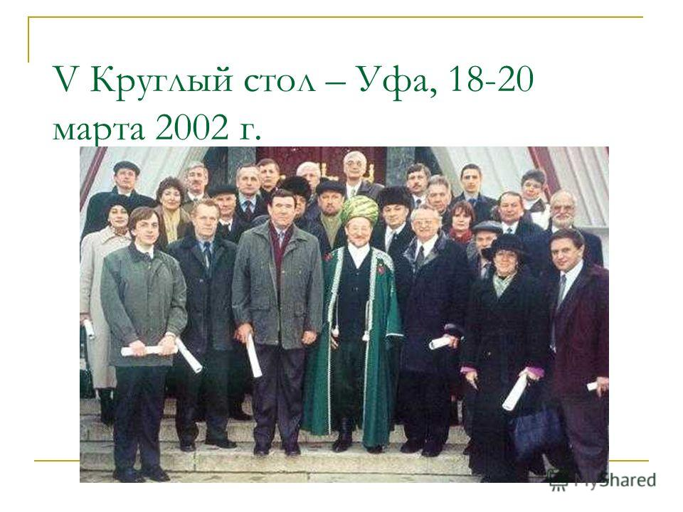 III Круглый стол – Саратов, 16-18.06. 2001 г