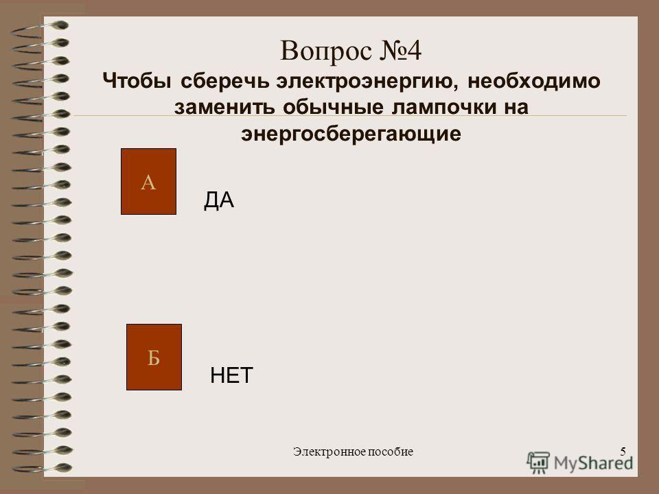 Электронное пособие4 Вопрос 3 Можно часто открывать и закрывать холодильник А Б ДА НЕТ