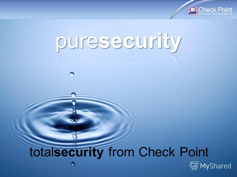 29 [Public]For everyone ©2003–2008 Check Point Software Technologies Ltd. All rights reserved. ENDPOINT One single security client GATEWAY One unified product line MANAGEMENT One single console totalsecurity from Check Point