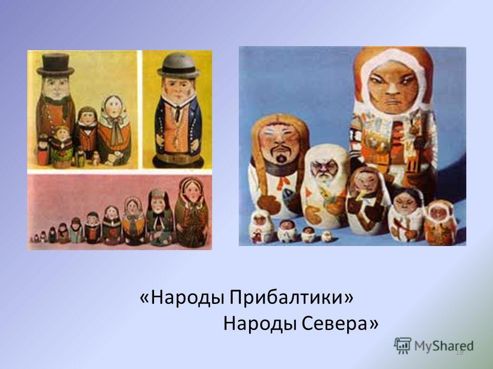 «Народы Прибалтики» Народы Севера» 18