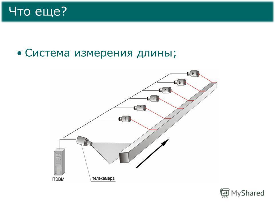 Система измерения длины; Что еще?