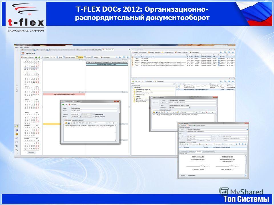 T-FLEX DOCs 2012: Организационно- распорядительный документооборот