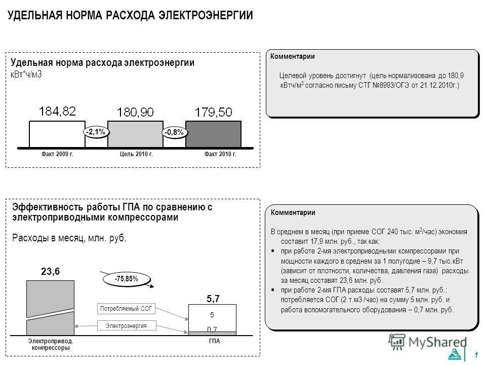 ОАО «Южно-Балыкский ГПК» по итогам работы 2010г.