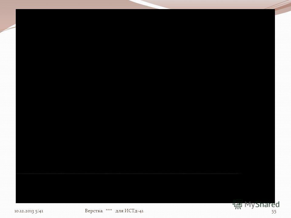10.12.2013 5:4355Верстка *** для ИСТд-41