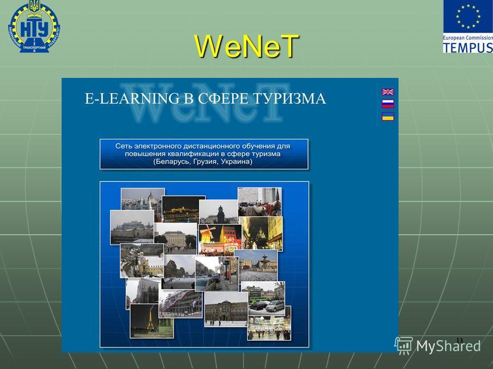 WeNeT 13