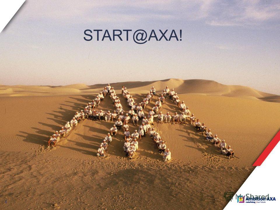 6 START@AXA!