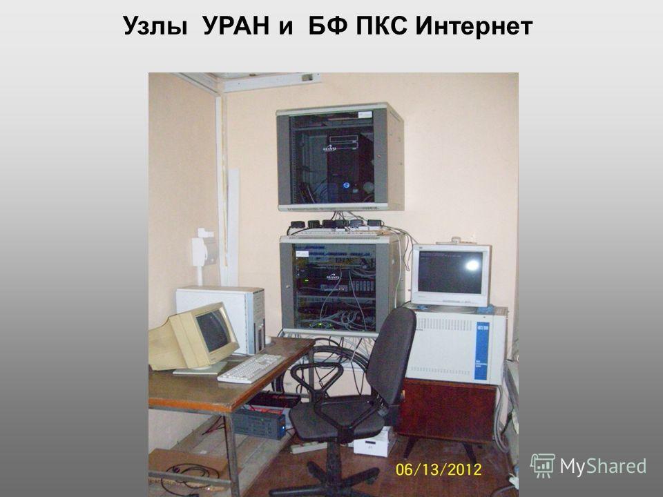 Узлы УРАН и БФ ПКС Интернет