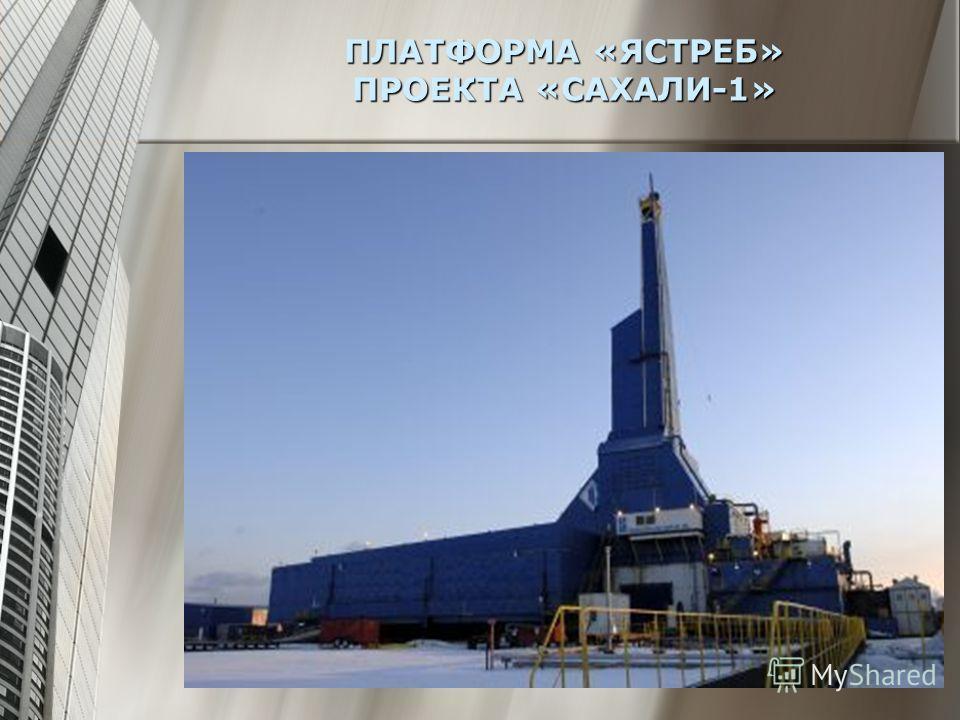 ПЛАТФОРМА «ЯСТРЕБ» ПРОЕКТА «САХАЛИ-1»