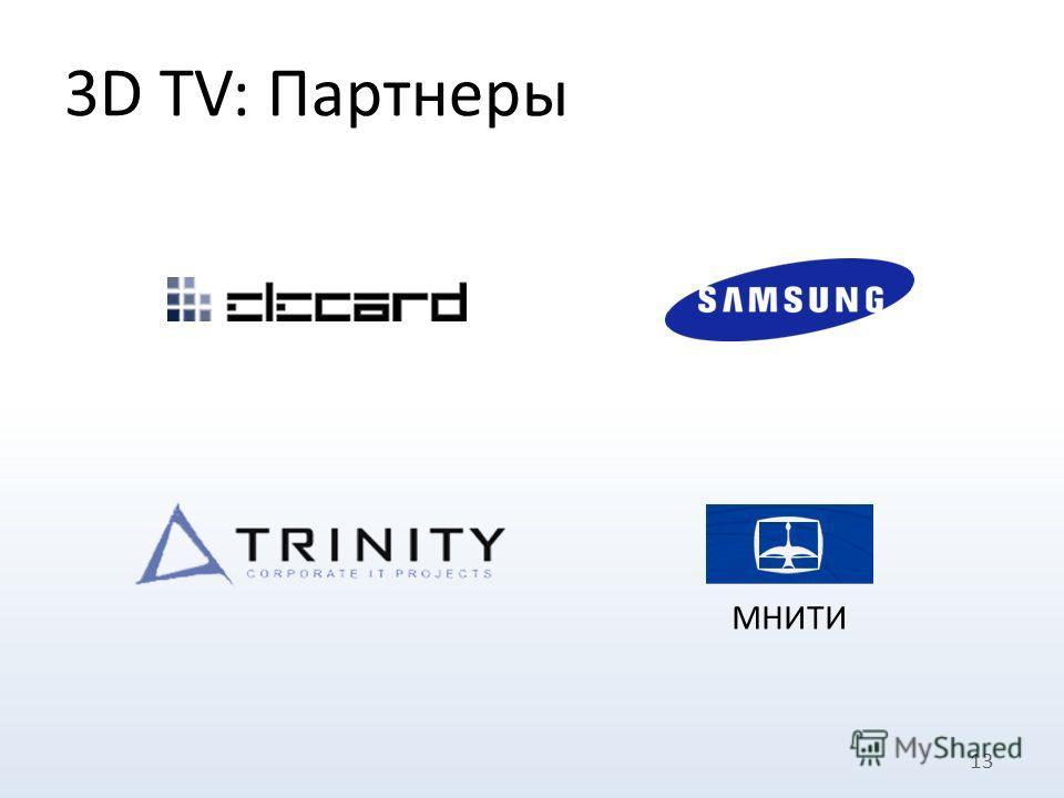 3D TV: Партнеры 13 МНИТИ
