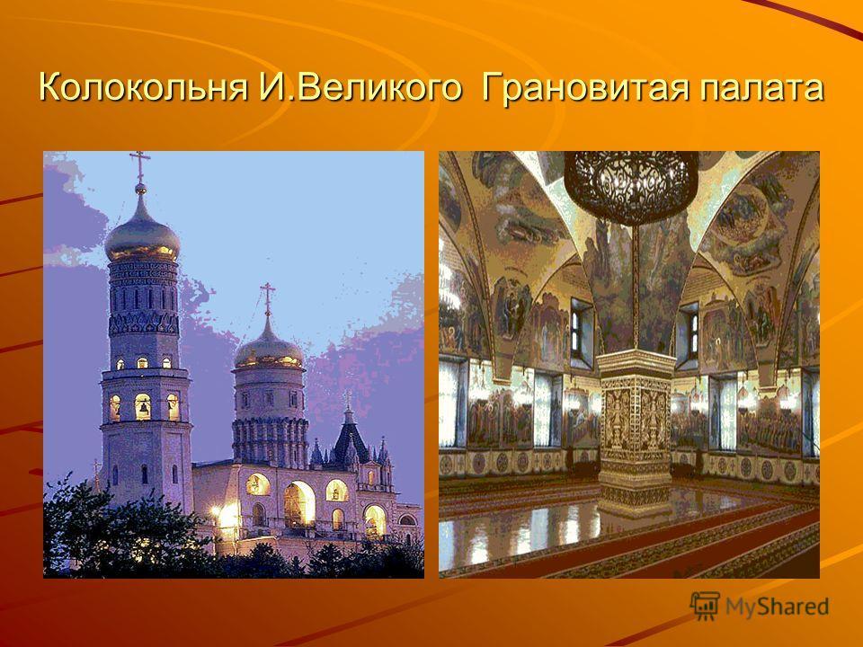 Феофан Грек Колокольня И.Великого