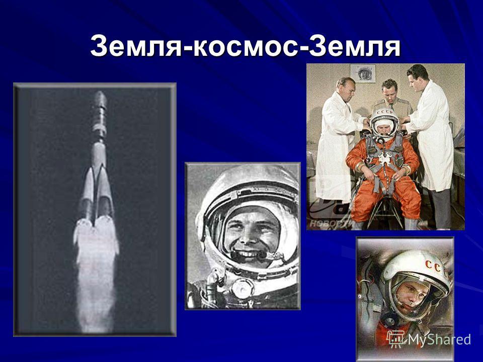 Земля-космос-Земля Земля-космос-Земля
