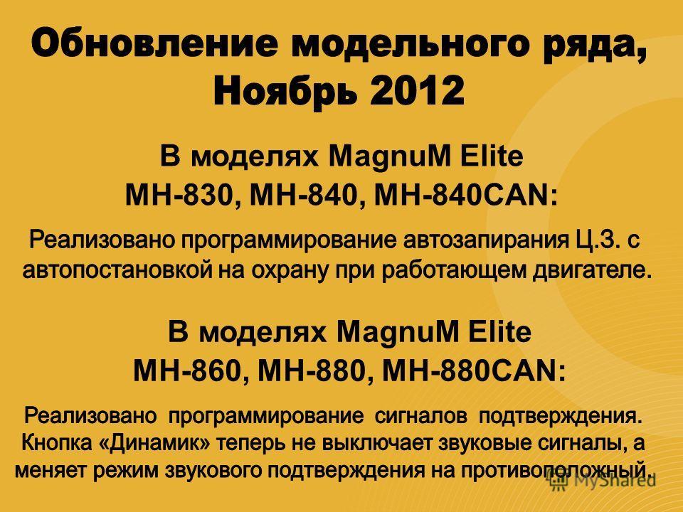 В моделях MagnuM Elite MH-830, MH-840, MH-840CAN: В моделях MagnuM Elite MH-860, MH-880, MH-880CAN: