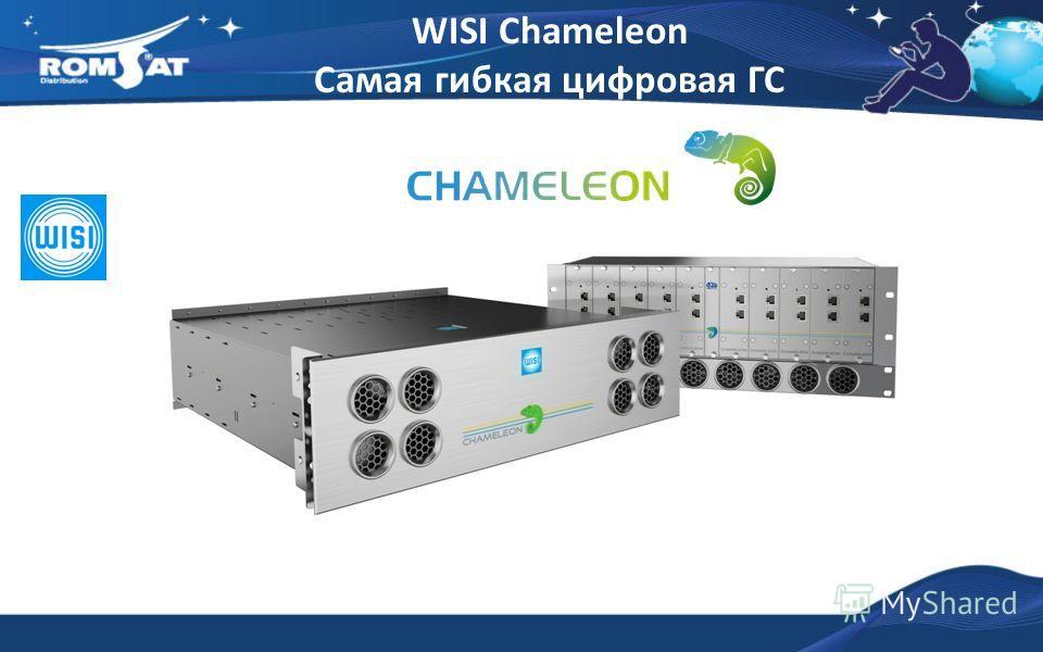 WISI Chameleon Самая гибкая цифровая ГС