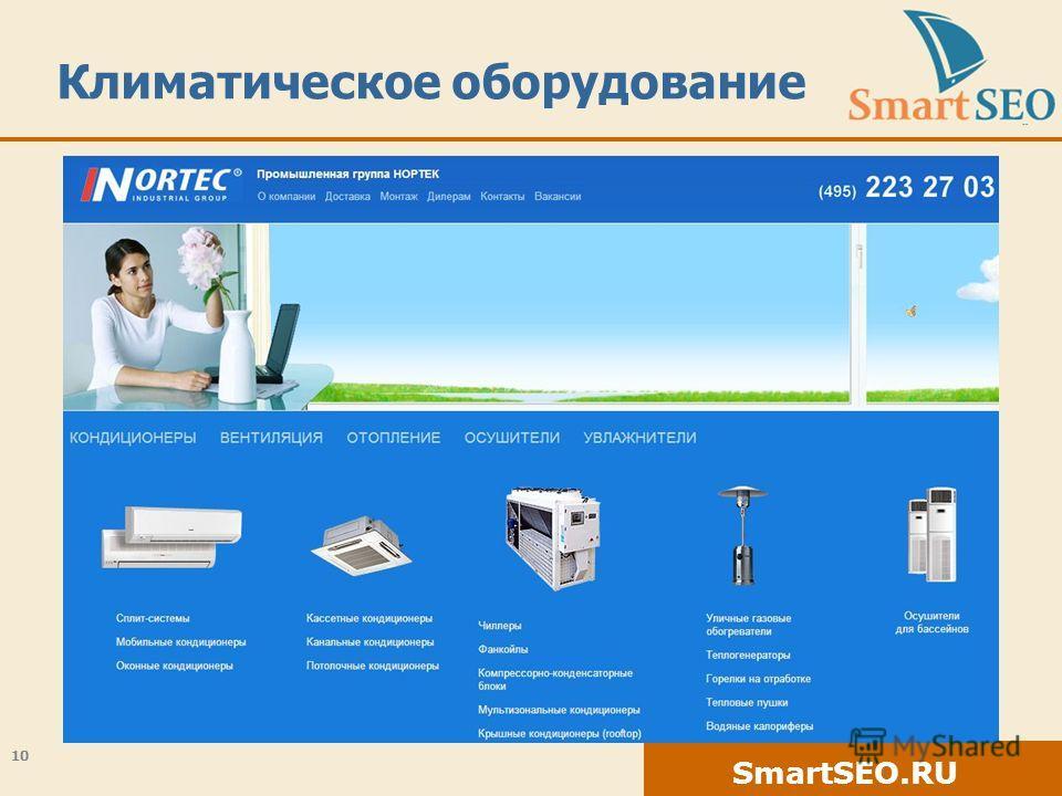 SmartSEO.RU Климатическое оборудование 10