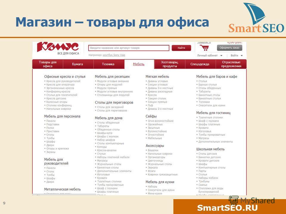 SmartSEO.RU Магазин – товары для офиса 9