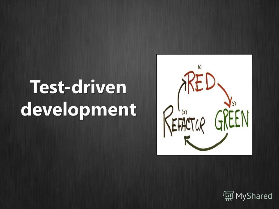 Test-drivendevelopment