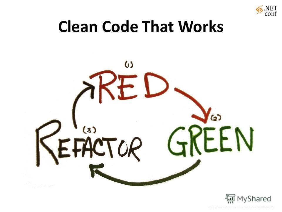 Clean Code That Works http://www.flickr.com/photos/lofink/4501610335/