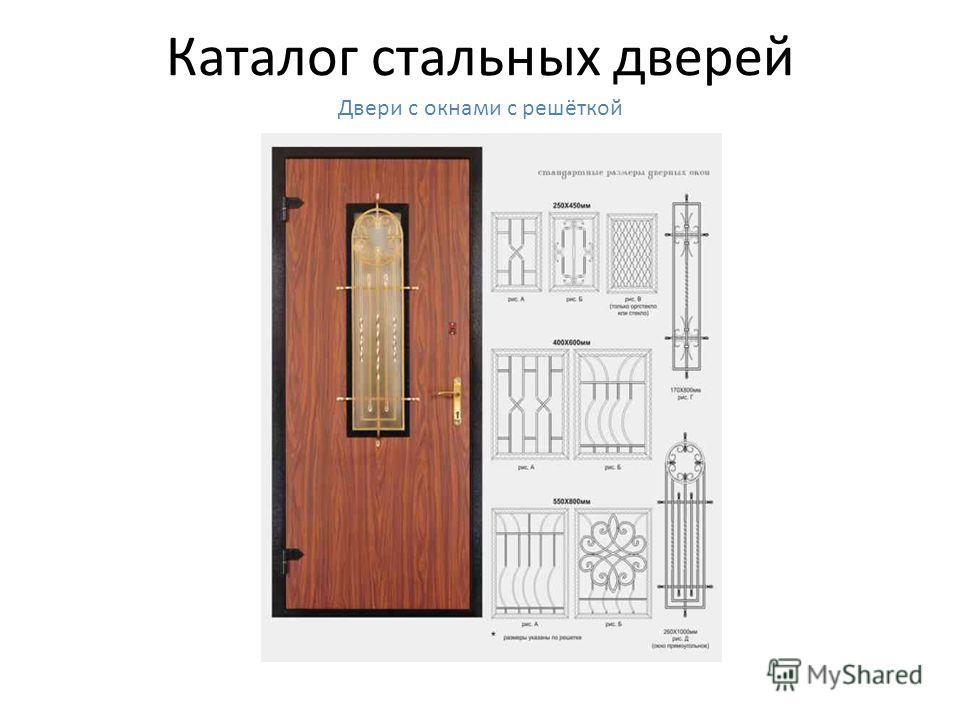 Каталог стальных дверей Двери с панелями МДФ шпон