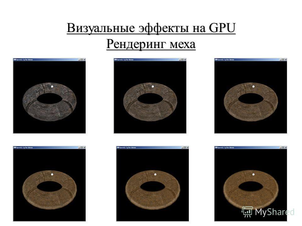 Визуальные эффекты на GPU Рендеринг меха