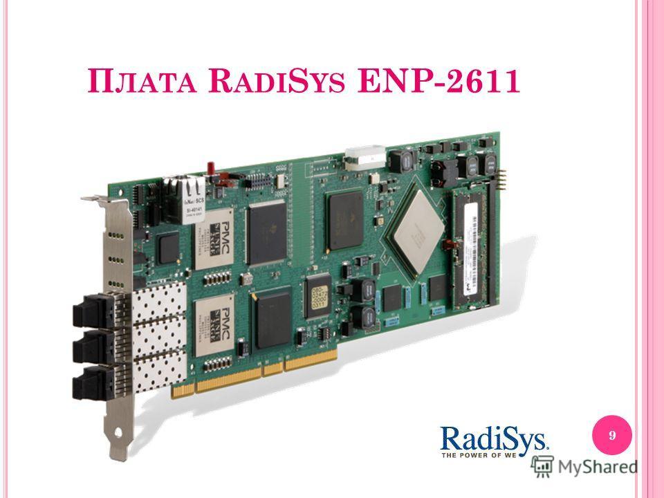 П ЛАТА R ADI S YS ENP-2611 9
