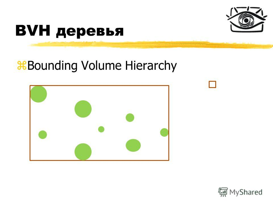 BVH деревья zBounding Volume Hierarchy
