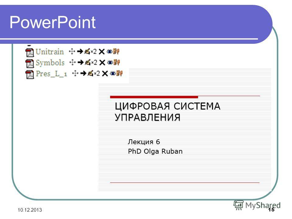 10.12.2013 15 PowerPoint
