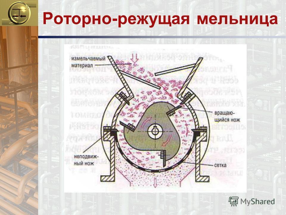 Роторно-режущая мельница