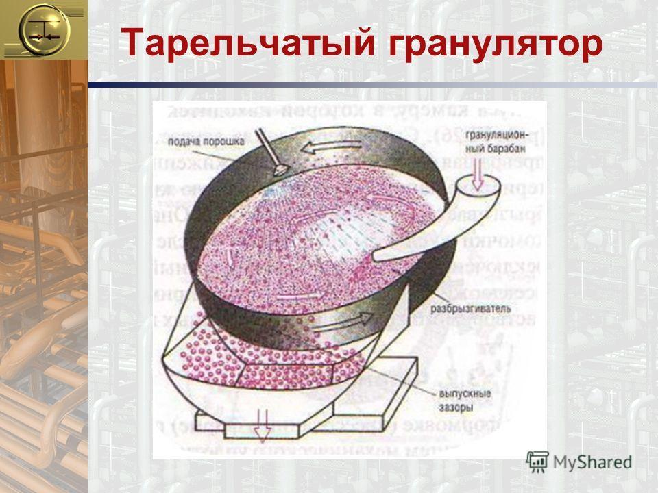 Тарельчатый гранулятор