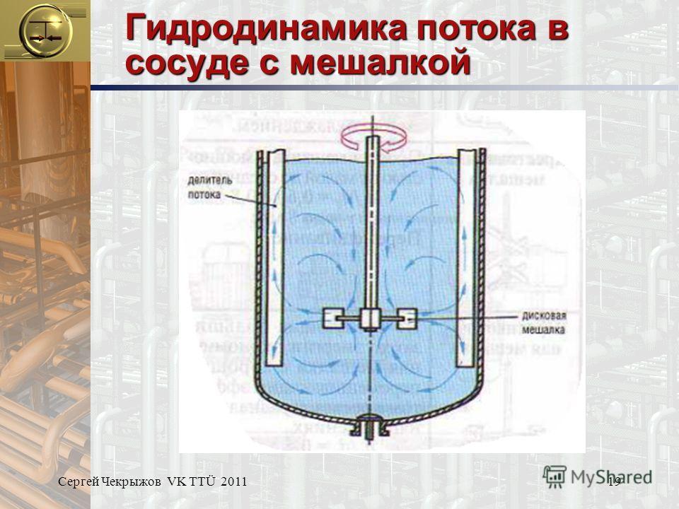 Сергей Чекрыжов VK TTÜ 201119 Гидродинамика потока в сосуде с мешалкой