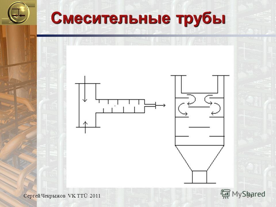 Сергей Чекрыжов VK TTÜ 201131 Смесительные трубы