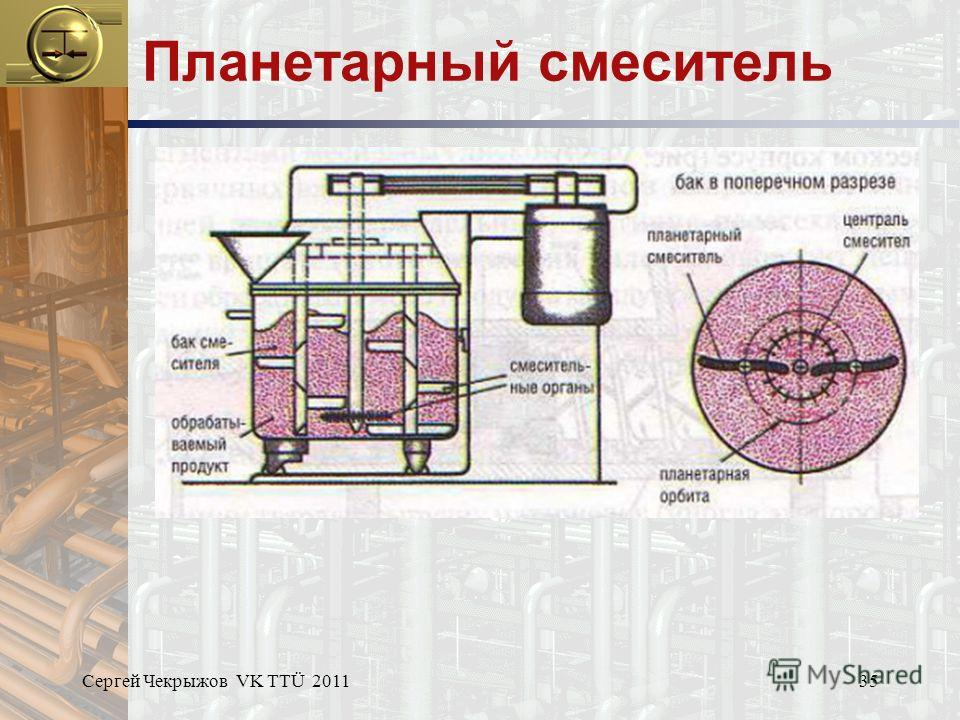 Сергей Чекрыжов VK TTÜ 201135 Планетарный смеситель
