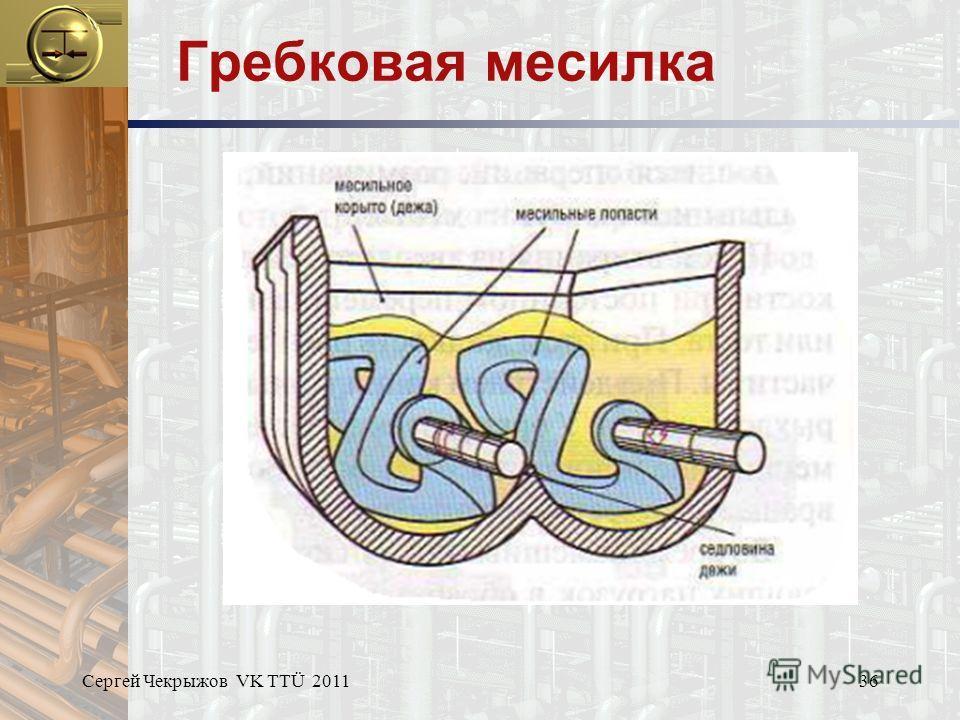 Сергей Чекрыжов VK TTÜ 201136 Гребковая месилка