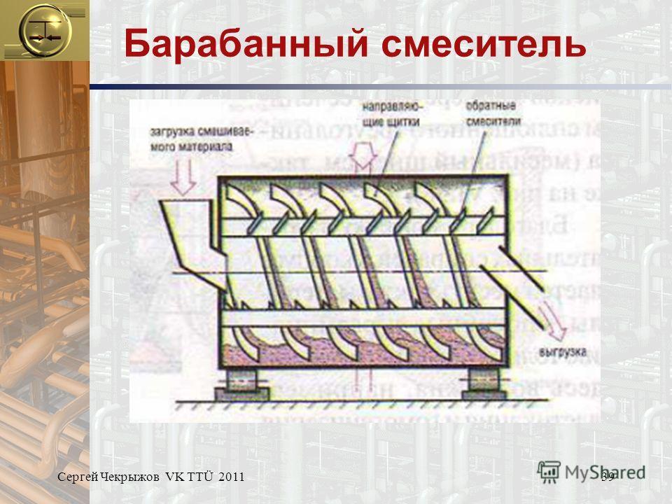Сергей Чекрыжов VK TTÜ 201139 Барабанный смеситель