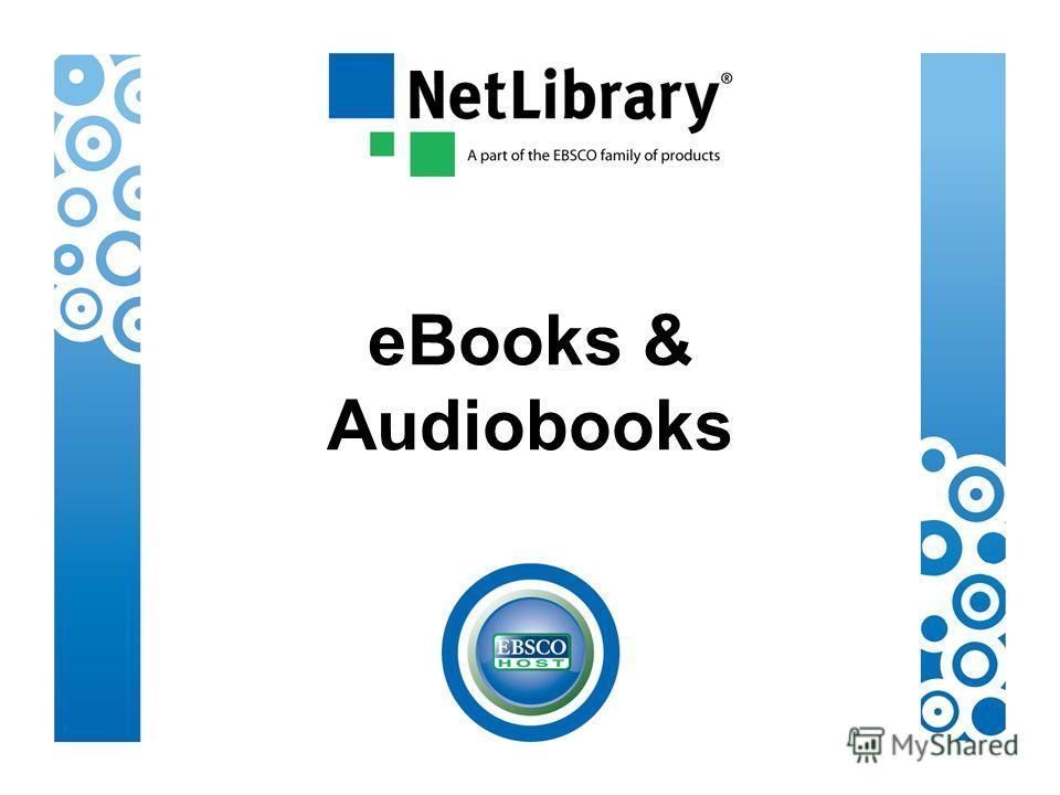 eBooks & Audiobooks
