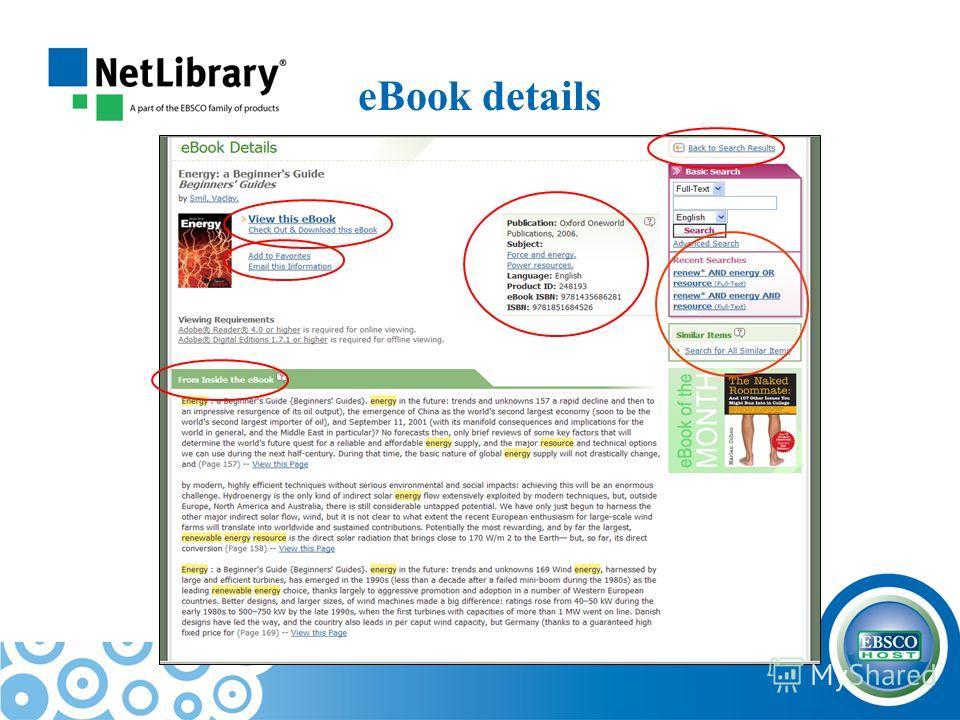 eBook details