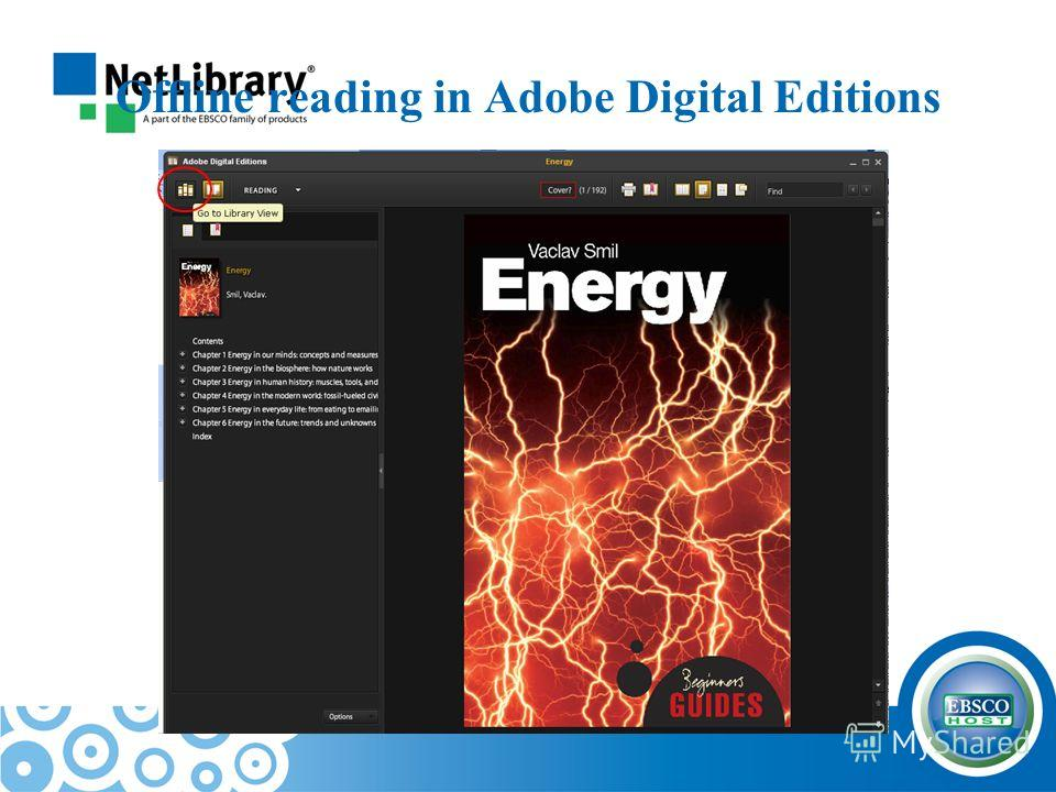 Offline reading in Adobe Digital Editions