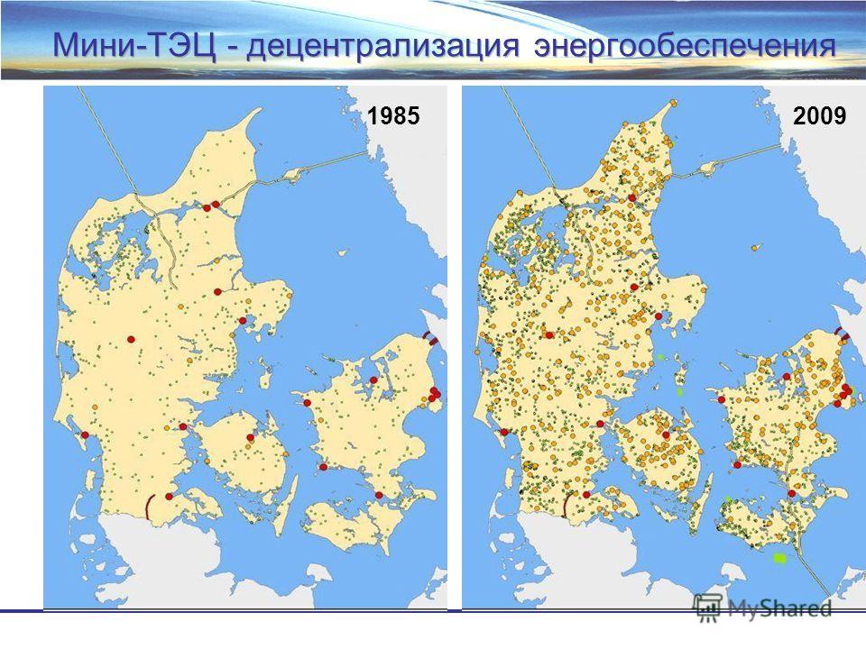 Мини-ТЭЦ - децентрализация энергообеспечения 19852009