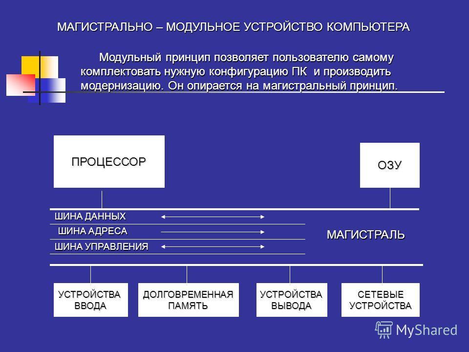 Системная шина предназначена для организации обмена информацией между компонентами ПК, соединяет процессор с ОП, характеризуется тактовой частотой(533 – 800 MГц) и разрядность канала связи(32, 64 битная). Выделают шину данных, адресную шину, управляю